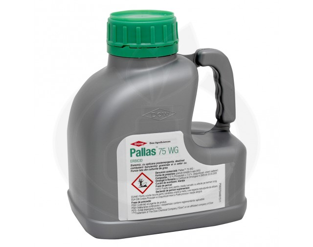 dow agro sciences erbicid pallas 75wg 500 g adjuvant 1 litru - 6