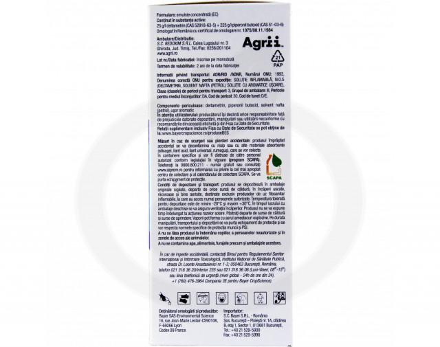 bayer insecticid k obiol ec 25 10 ml - 6