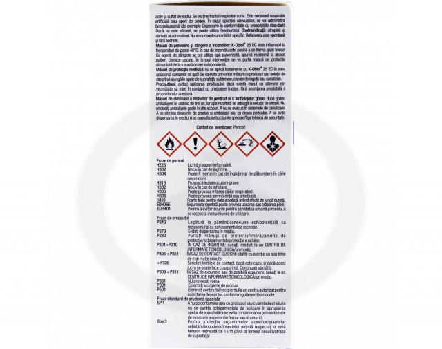 bayer insecticid k obiol ec 25 10 ml - 5