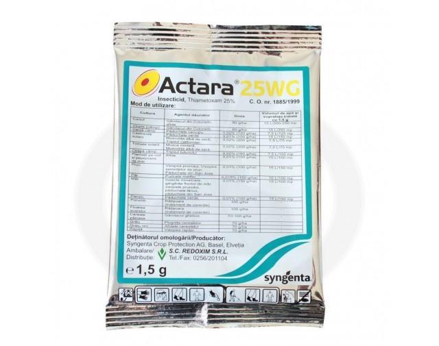 syngenta insecticid agro actara 25 wg 1.5 g - 1