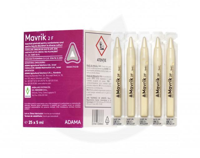 adama insecticid agro mavrik 2 f 5 ml - 2