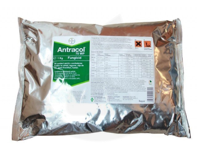 bayer fungicid antracol 70 wp 20 g - 3