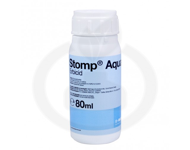 basf erbicid stomp aqua 80 ml - 2