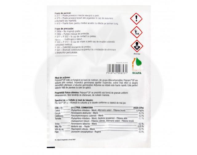 basf fungicid polyram df 20 g - 2