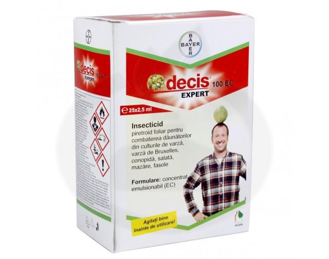 bayer insecticid agro decis expert 100 ec 2.5 ml - 4