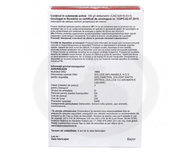 bayer insecticid agro decis expert 100 ec 7.5 ml - 5