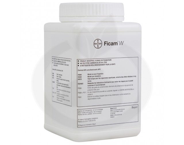 bayer insecticid ficam wp80 500 g - 2