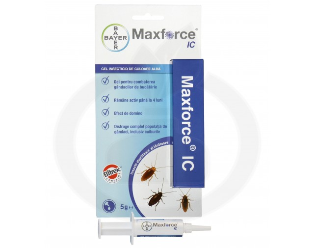 bayer insecticid max force ic gel 5 g cutie - 1