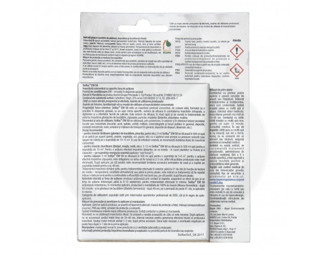 bayer insecticid solfac ew 50 set 5 5 ml - 2