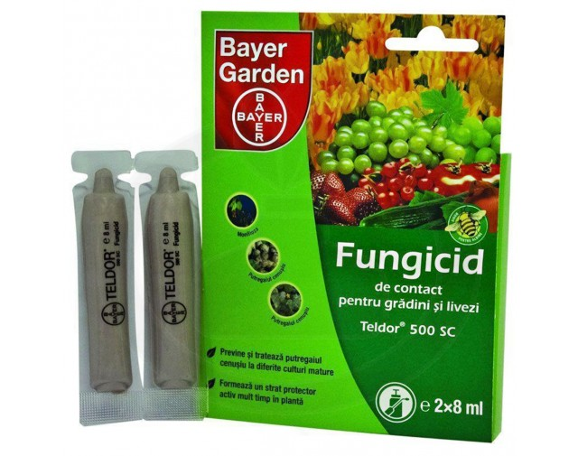 bayer fungicid teldor 500 sc - 1