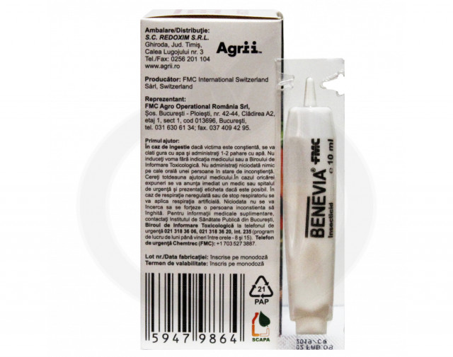 fmc insecticide crop benevia 10 ml - 3