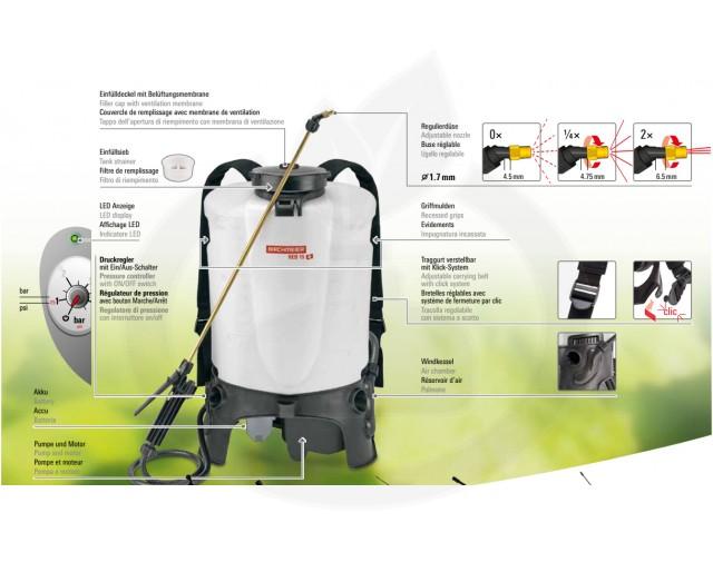 birchmeier aparatura pulverizator reb 15 az1 - 2