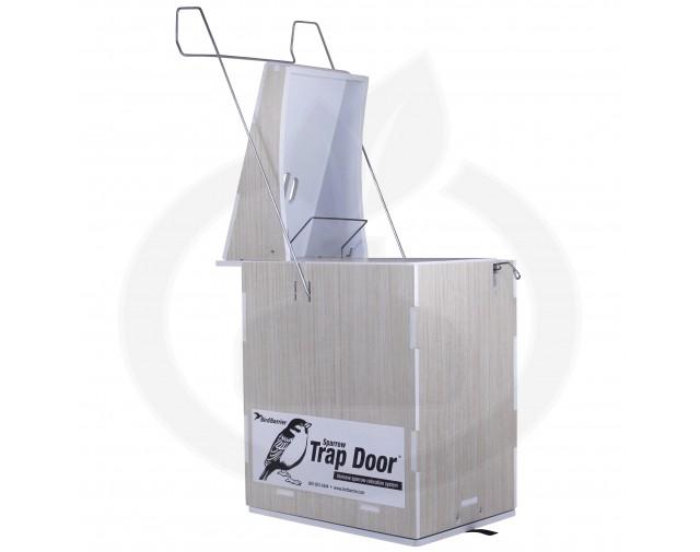 bird barrier capcana trap door capcana vrabii - 6
