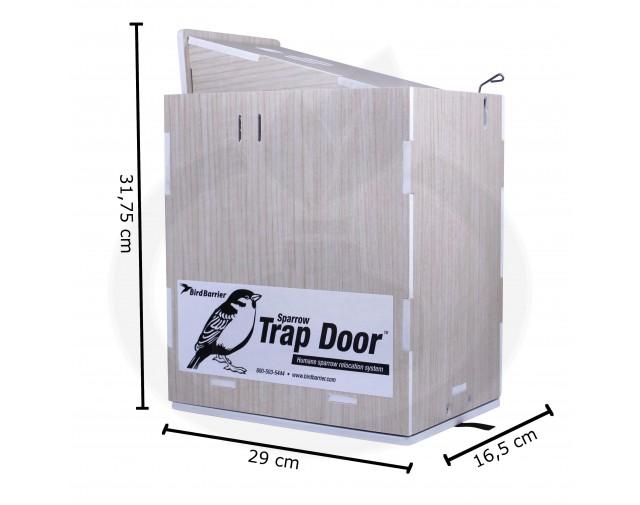 bird barrier capcana trap door capcana vrabii - 10