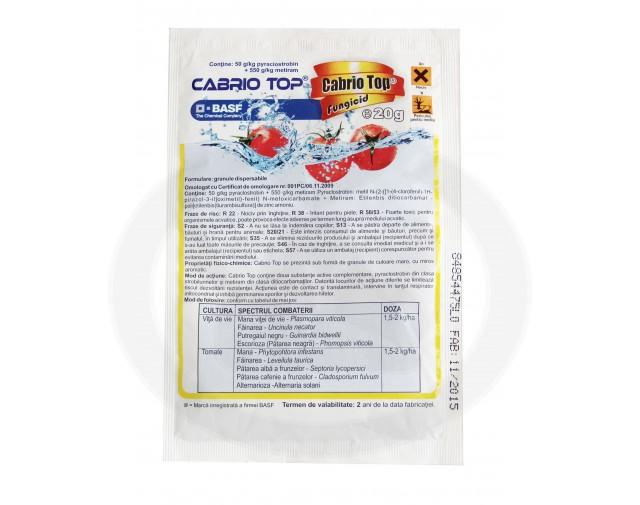 basf fungicid cabrio top 20 g - 2