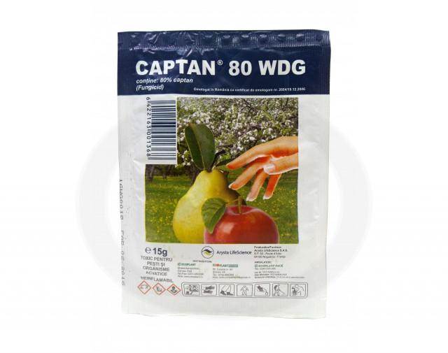 arysta lifescience fungicid captan 80 wdg 15 g - 2