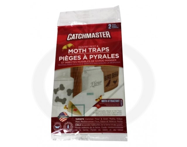 catchmaster 812b adeziv molii alimente set 2 bucati - 1