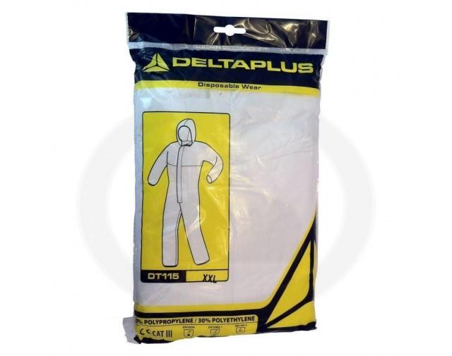 deltaplus protectie combinezon antichimic cat.iii 5 6 dt115 xl - 4