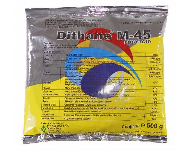 dow agro sciences fungicid dithane m 45 500 g - 2