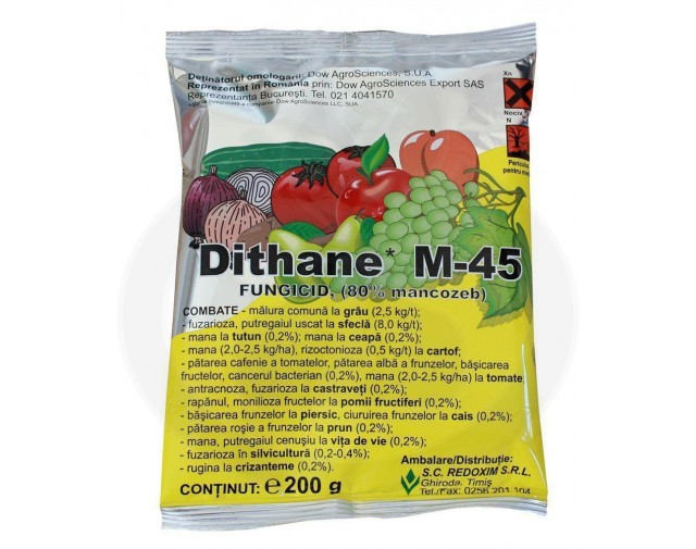 dow agro sciences fungicid dithane m 45 200 g - 2