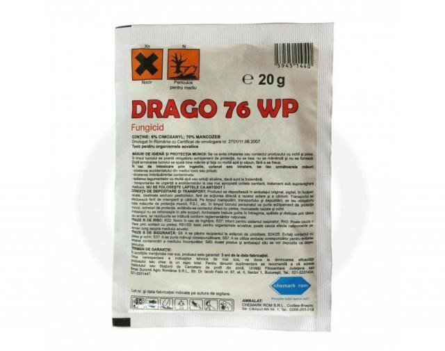 oxon fungicid drago 76 wp 20 g - 2