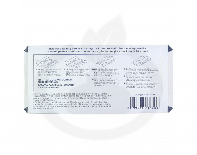 ghilotina capcana t225 adeziv gandaci - 4