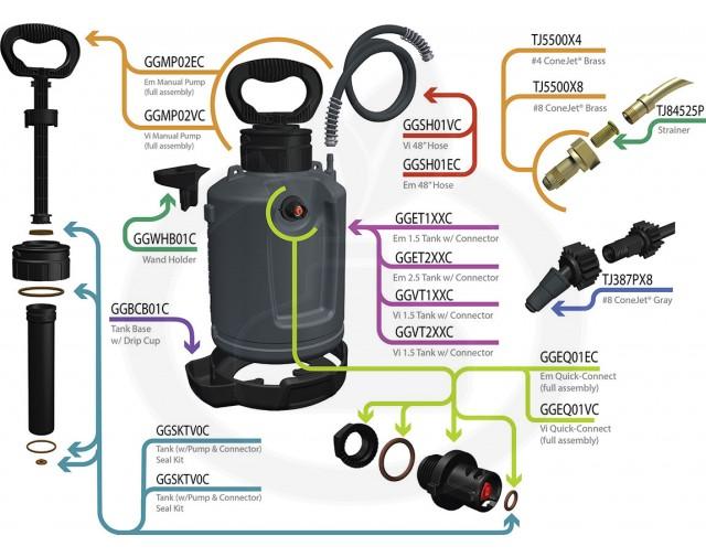 forefront aparatura green gorilla proline vi pro 9.5 litri - 5