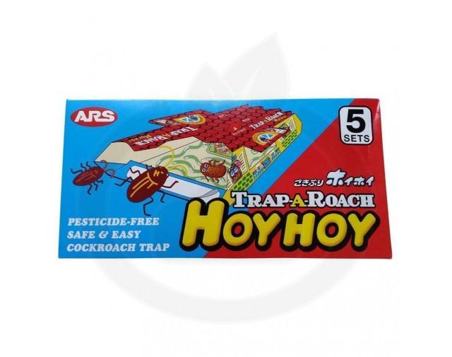 hoy hoy capcana trap a roach adeziv gandaci set 5 capcane - 4
