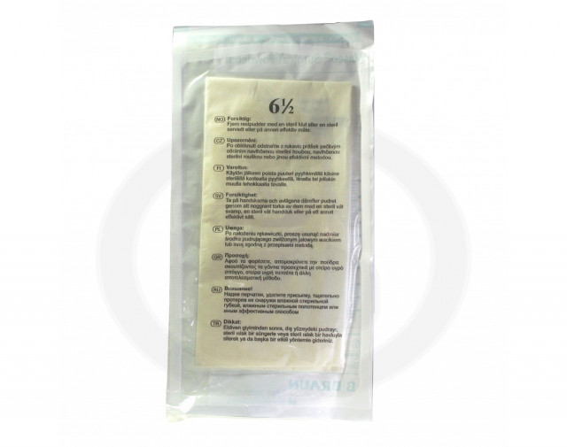 b braun gloves vasco surgical powdered 6 5 2 p - 1