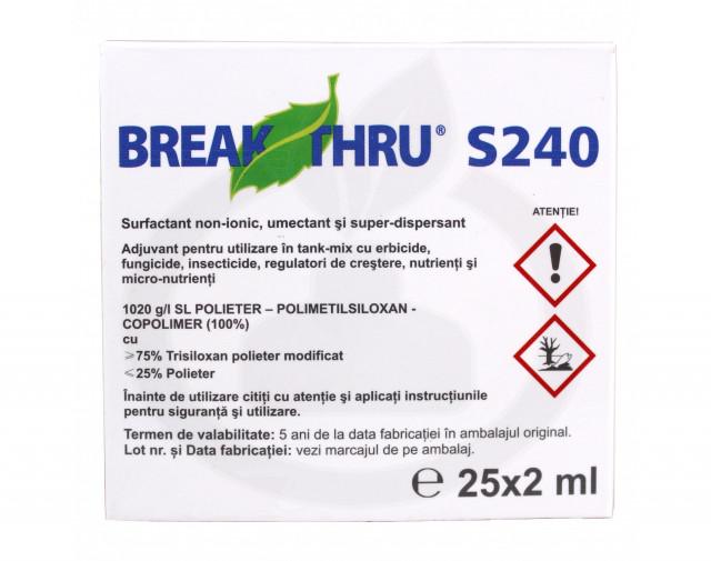evonik industries adjuvant break thru s 240 2 ml - 1