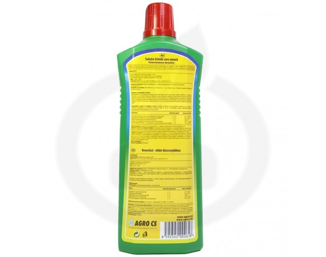 agro cs ingrasamant sare amara lichida 1 litru - 2