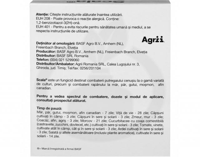basf fungicide scala 20 ml - 6