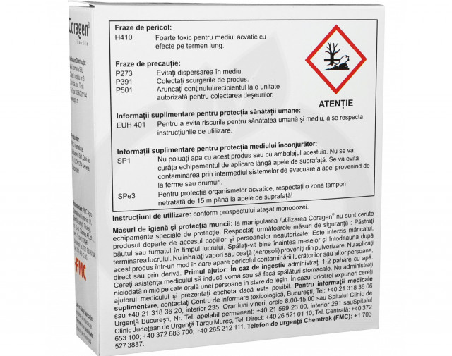 dupont insecticid agro coragen 20 sc 25 ml - 8