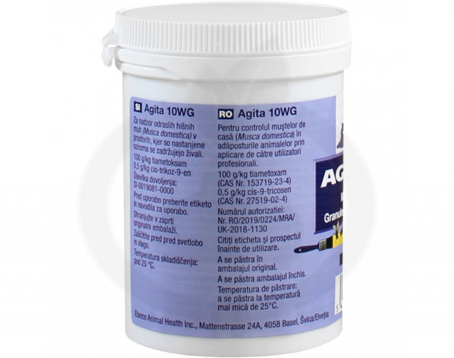elanco insecticid agita 10 wg 100 g - 3