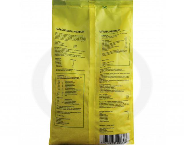 hauert fertilizer manna lawn fertilizer premium 2 kg - 3