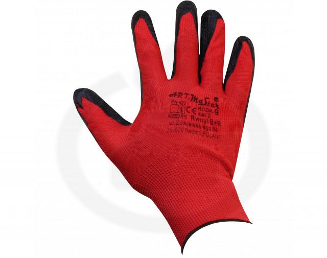 ogrifox protectie manusi ox lateks textura ridata latex - 6