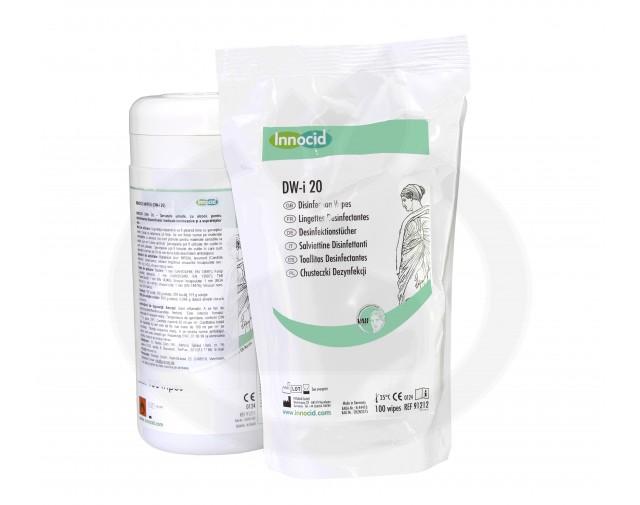 prisman dezinfectant innocid dw i 20 100 servetele - 2