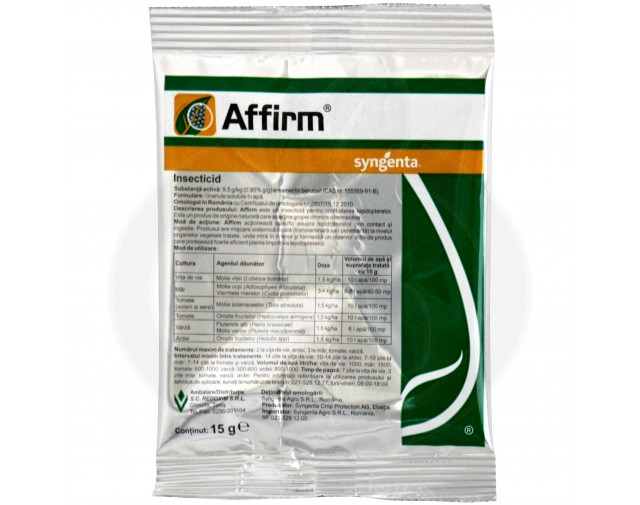 syngenta insecticid agro affirm 15 g - 2