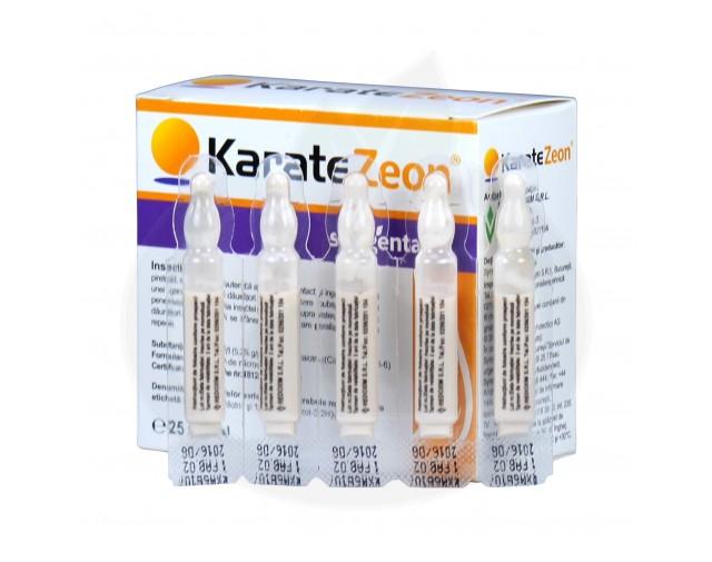 syngenta insecticid agro karate zeon 50 cs 2 ml - 2