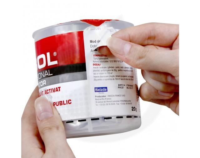 kwizda insecticid dobol fumigator 20 g - 6