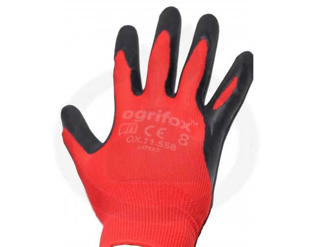 ogrifox protectie manusi ox lateks textura ridata latex1 - 3