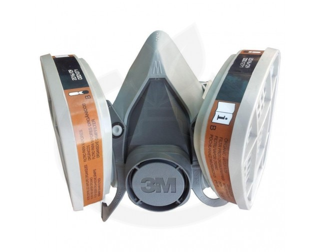 3m protectie masca semi 60001 - 4