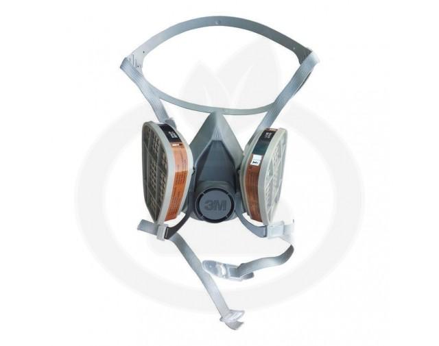 3m protectie masca semi 60001 - 5