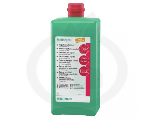 b.braun dezinfectant meliseptol 1 litru - 2