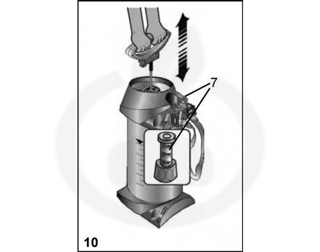 mesto aparatura pulverizator 3270fo foamer - 4