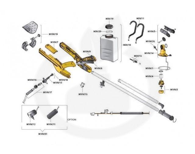 volpi aparatura micronizer jolly m10v - 3