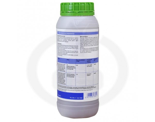 monsanto erbicid total roundup classic pro 1 litru - 2
