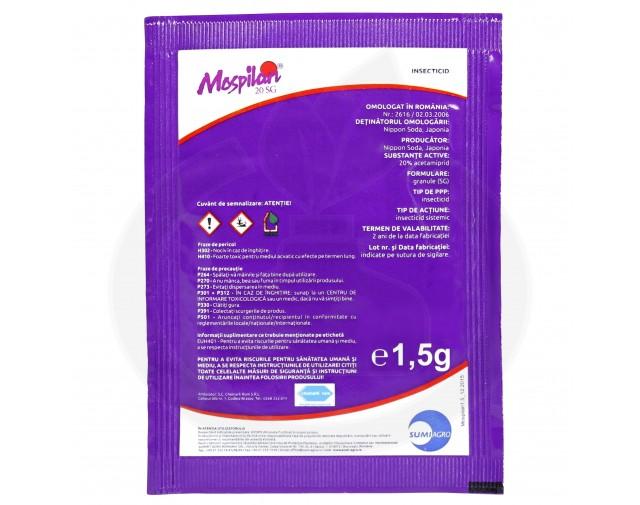 nippon soda acaricid mospilan 20 sg 1.5 g - 4