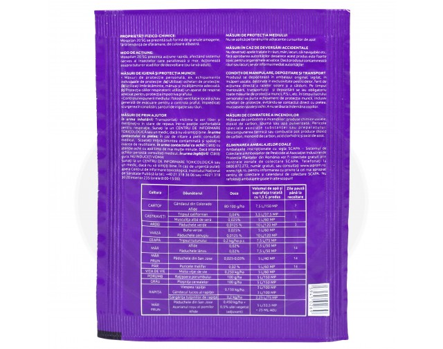 nippon soda acaricid mospilan 20 sg 1.5 g - 7