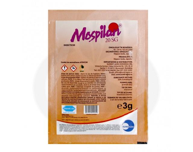 nippon soda acaricid mospilan 20 sg 3 g - 3